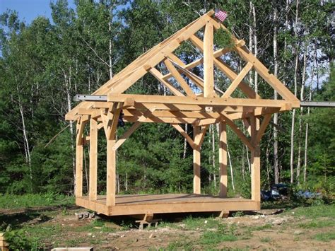 Post-And-Beam-Construction-Shed-Plans