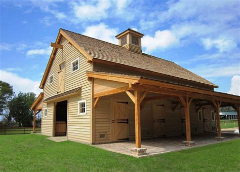 Post-And-Beam-Horse-Barn-Plans