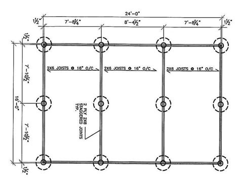 Post-And-Pier-Foundation-Plans