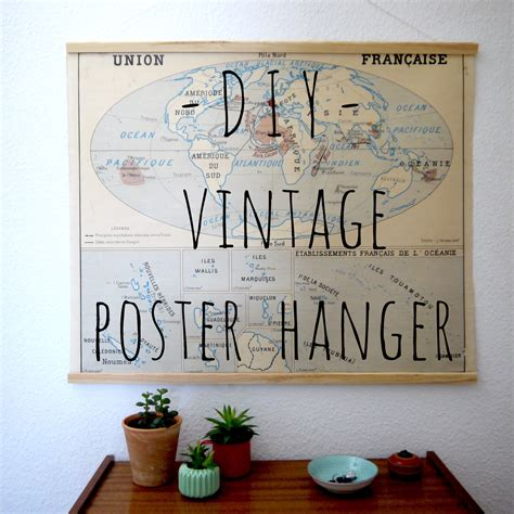 Poster Hanger Wood Diy Plans