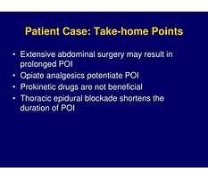 Best Postoperative ileus diet