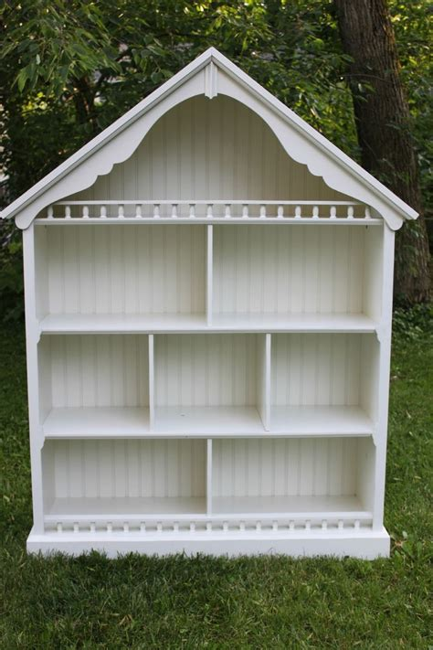 Pottery Barn Dollhouse Bookcase Plans