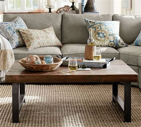 Pottery Barn Griffin Coffee Table Diy Typical Dimensions