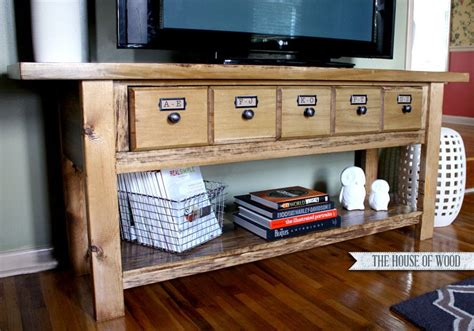 Pottery Barn Tv Stand Diy