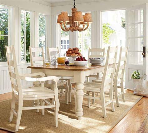 Pottery-Barn-White-Farm-Table