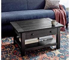 Best Pottery barn industrial cart coffee table