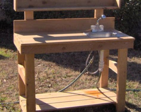 Potting Table Plans 6 Foot