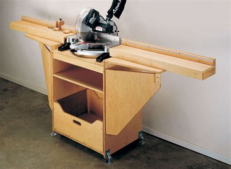 Power Miter Saw Station Plans