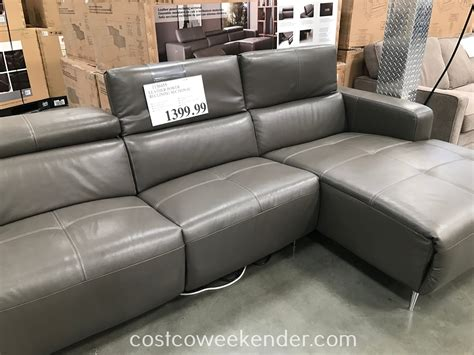 Power Reclining Sectional Costco