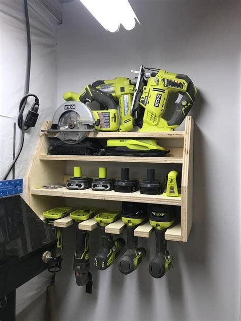 Power Tool Storage Diy