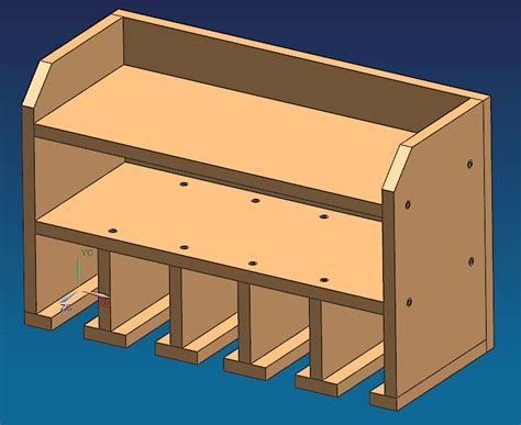 Power Tool Storage Rack Plans