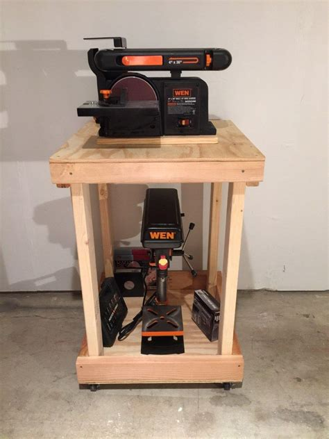 Power Tool Woodworking Cart