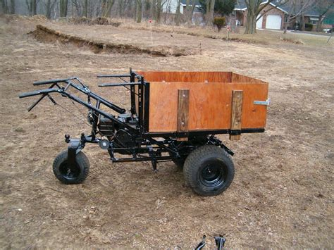 Power Wheelbarrow Plans