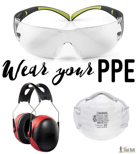 Ppe-For-Woodworking