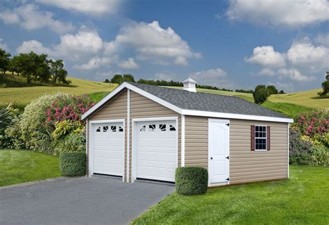 Prefab Two Car Garage Plans