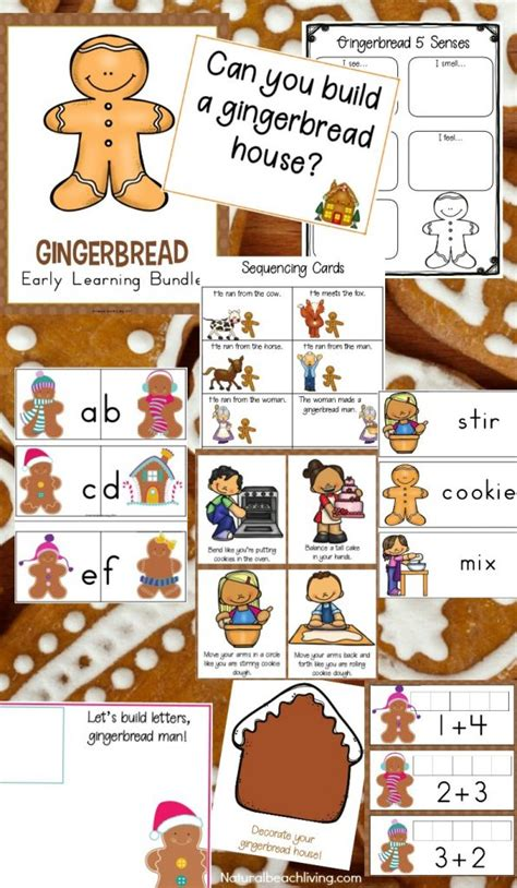 Preschool Gingerbread Man Lesson Plans