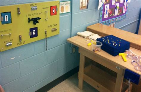 Preschool-Woodworking-Center