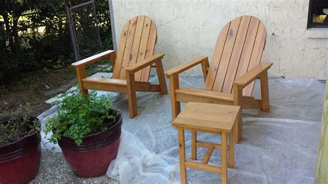 Pressure Treated Outdoor Furniture Plans