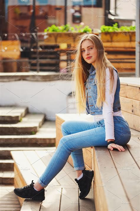HD wallpapers blonde girl hairstyle