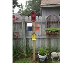 Best Pretty bird houses on poles