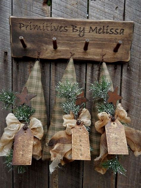 Primitive Diy Christmas Decorations