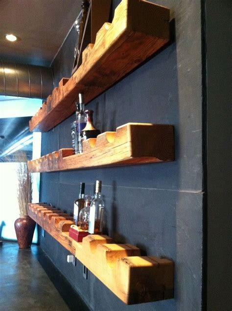 Primitive Wine Rack Barn Beam Furniture