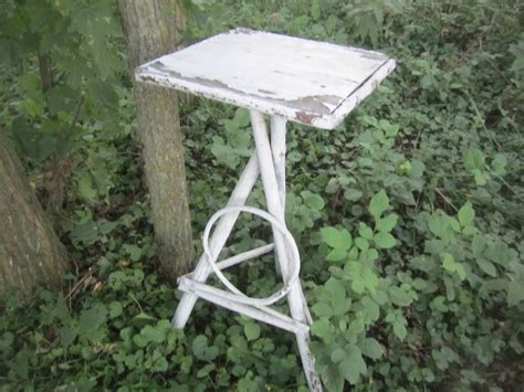 Primitive Wooden Plant Stand