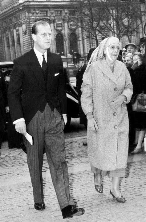 Prince Philip Duke Edinburgh His Mother