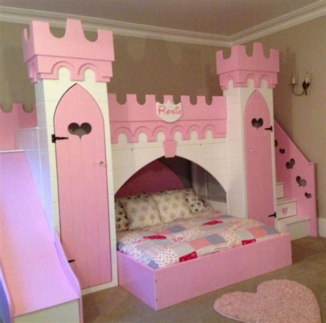 Princess Bed With Slide Diy Fire