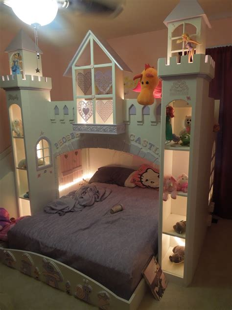 Princess Bunk Bed Diy Dimensions