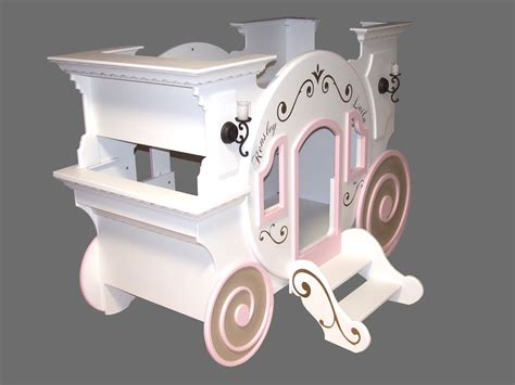Princess Carriage Bed Plans