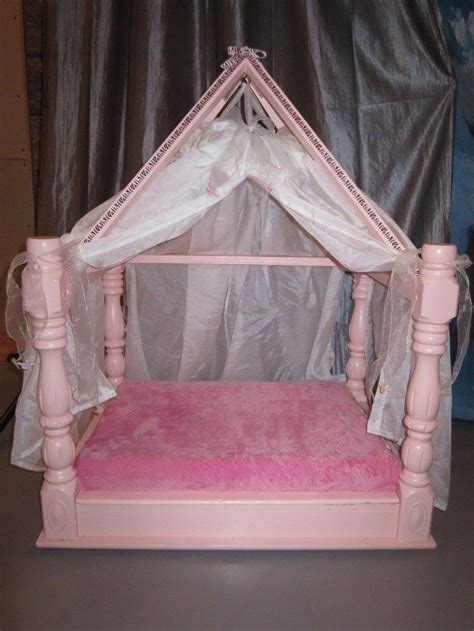 Princess Dog Bed With Canopy