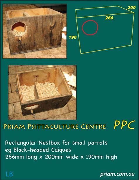 Princess-Parrot-Nesting-Box-Plans