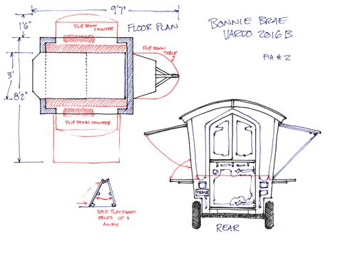 Printable Building Plans Gypsy Wagons And Caravans