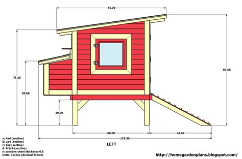 Printable Chicken Coop Building Plans
