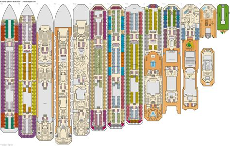 Printable Deck Plans Carnival Splendor