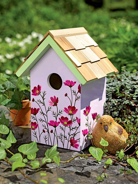 Printable Decorative Bird House Plans