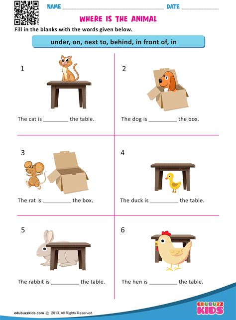 HD wallpapers free worksheets on prepositions for kindergarten Page 2
