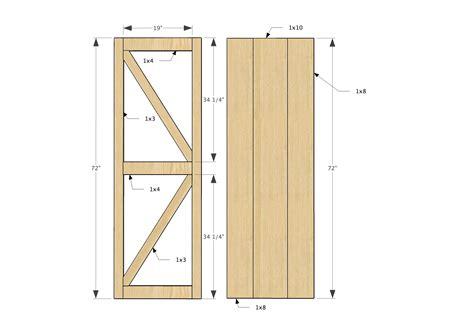 Printable-Barn-Door-Plans