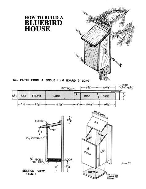 Printable-Bluebird-House-Plans