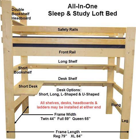 Printable-Full-Size-Loft-Bed-Plans