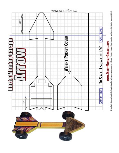 Printable-Pinewood-Derby-Plans