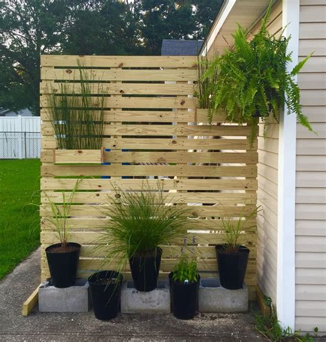 Privacy Screen Wood Diy Shutters