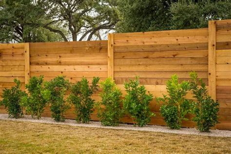 Privacy Wood Fence Design Ideas