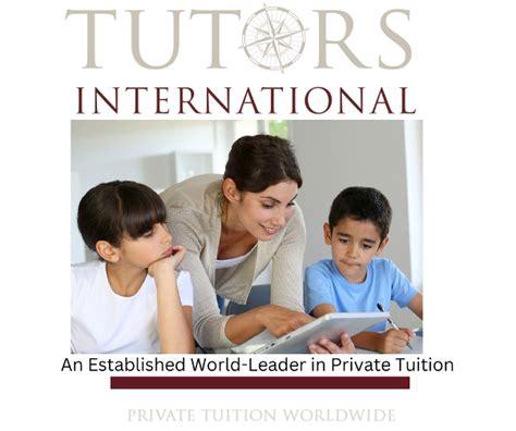 Private Tutors International And Best Private Tutoring Websites