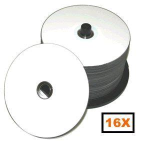 Prodisc 16X DVD-R White Thermal Hub Printable 500 Pack in Cakebox
