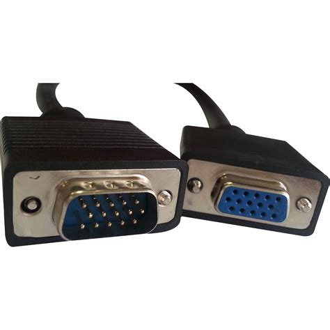 Professional Cables SVGA / VGA Cable HD15 Male-Female Extension - 10 feet Electronics Computer Networking