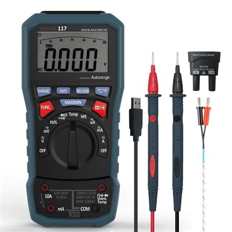 Professional Digital Multimeter PC Interface