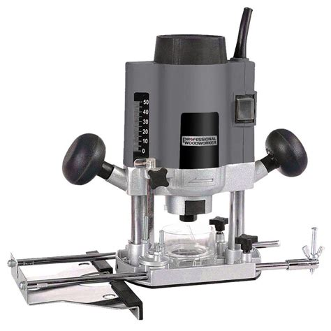 Professional Woodworker Plunge Router 1200 Watt