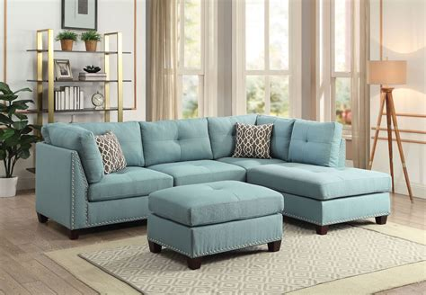 Promo Code Linen Sectional Sofa